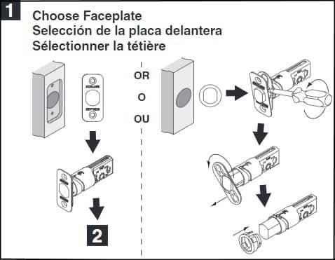 Schlage Deadbolt B60, B60CS, B60F, B62 Installation Guide User Manual